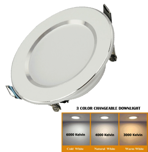 Led Downlight 3 colors