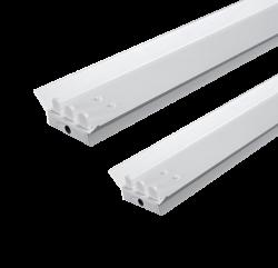 LED TL Armatuur voor 3 x T8 buizen met reflektor kap - prft8rt150-ip22-tl-3 stuks t8-1500mm-reflector