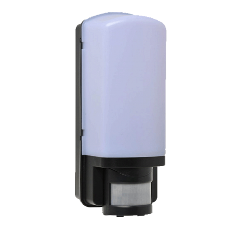 LED Wandarmatuur E27 + PIR zwart - be27361-wand arm pir sensor