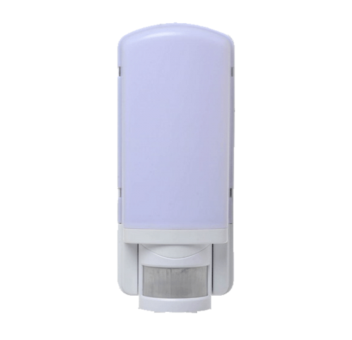 LED Wandarmatuur E27 +PIR wit - be27360-led-wand sensor