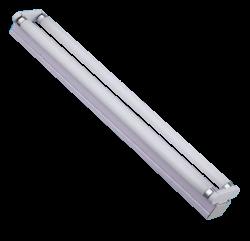 Led TL Armatuur IP22 Compleet 2x18watt 120cm 120lm/w Basic  - arm-ip22-compleet-2x18watt-120-120lm/w