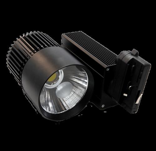 prrbb40-tracklight 40w zwart