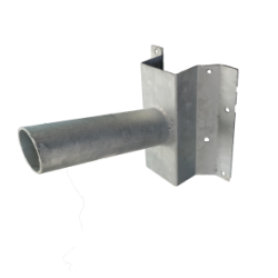 Muursteun voor LED pand verlichting Ø 48mm - prm48-muursteun
