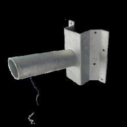 Muursteun voor LED straatlamp Ø 60mm - prm60-muursteun