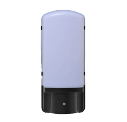 LED Wandarmatuur E27 Zwart Dag/Nacht Sensor - be27363-wandarmatuur e27 zwart