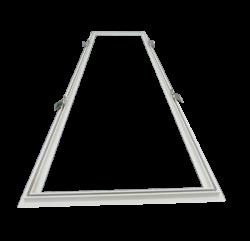 Led Paneel Inbouwframe 30x120cm - lvv-pfr12030