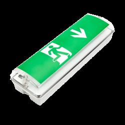 Noodverlichting LED 3W Slagvast IP65 - prew03-t