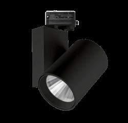 Tracklight Armatuur 50W CRI>95 ZWART  - prrdb50-tracklight-arm-cri>95 zwart