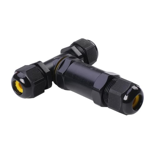 5 Pin Waterproof T-Connector IP68 4~8MM - lvv-con5t-4m8