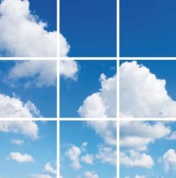 Led Wolkenplafond 9 Panelen - paneel-wolk-9