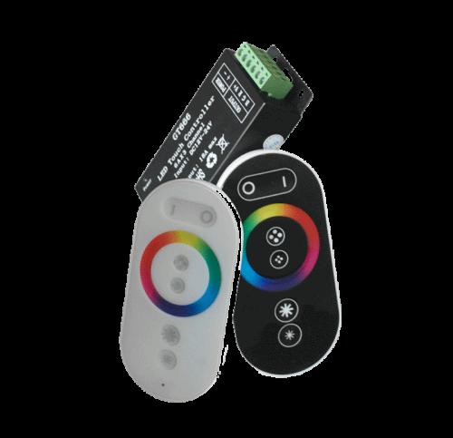 REMOTE CONTROL LED STRIP RGB MINI 288W 24A – TOUCH CONTROL - dim-12-24 rgb