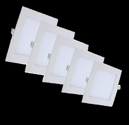 Mini Panel Vierkant 18W Inbouw - mini-panel-vierkant-18w-inbouw
