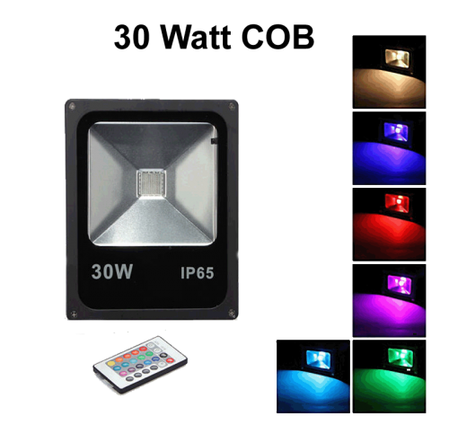 Floodlight 30W IP65 RGB  - prfr030