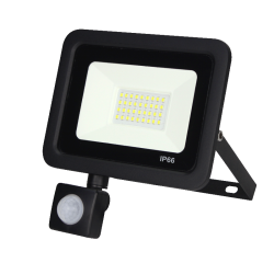Led Floodlight/Bouwlamp met Sensor 20w - prfs020