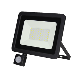 Led Floodlight/Bouwlamp met Sensor 30w - prfs030