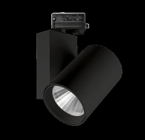 Tracklight 3-FASE 60Watt ZWART - prrbb60-tracklight-60w-zwart